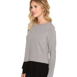 BNWT Kensie Gray Bamboo Fleece Sweatshirt